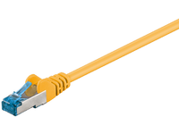 MICROCONNECT SFTP CAT6A 0,5M Yellow SNAGLES (SFTP6A005Y)