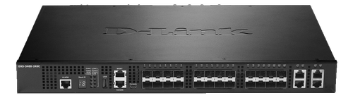 D-LINK 24-PORT LAYER2 MANAGED 10G STACK SWITCH 4X COMBO            IN CPNT (DXS-3400-24TC)