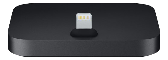 APPLE iPhone Lightning Dock, Black Dokkingstasjon til iPhone (MNN62ZM/A)