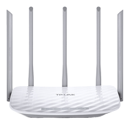 TP-LINK AC1350 Dual Band Wireless Router Qualcomm 867Mbps at 5GHz + 450Mbps at 2.4GHz 802.11ac/a/b/g/n 1 10/100M WAN + 4 10/100M LAN
