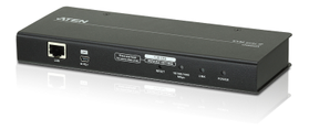 ATEN Single Port IP KVM Over IP Control unit (KVM + Serial), with Virtual Media Support (CN8000A-AT-G)