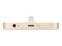 APPLE IPHONE LIGHTNING DOCK ROSE GOLD . (ML8L2ZM/A)