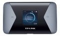 TP-LINK Mobile 4G LTE WLAN Router 600 MBs Dual Band Wi-Fi 4G Modem SIM card slot microSD slot 1.4 inch TFT display 3000mAH battery