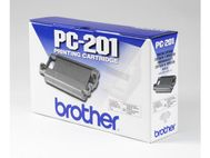 BROTHER Ribbon - Black - Refillable - 450 pages - for FAX 1010, 1020, 1030, IntelliFAX 1170, 1270, 1570, 1575, MFC 1770, 1780, 1870, 1970 (PC201)