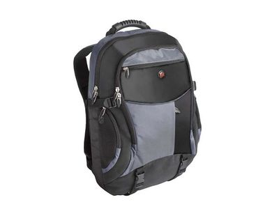 "TARGUS XL NOTEBOOK BACKPAC BLACK BLUE / NYLON NS 18"" (TCB001EU)"