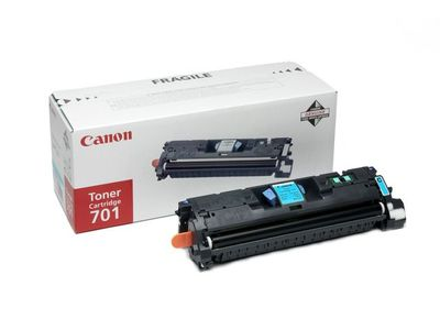 CANON 701 toner cartridge cyan standard capacity 4.000 pages 1-pack (9286A003)