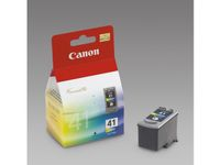 CANON CL-41 ink cartridge tri-colour standard capacity 12ml 265 pages 1-pack (0617B001)