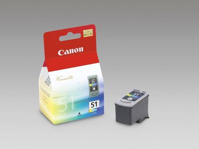 CANON CL-51 ink cartridge colour high capacity 21ml 560 pages 1-pack (0618B001)