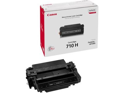 CANON 710H toner cartridge black high capacity 12.000 pages 1-pack (0986B001)