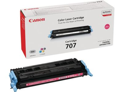 CANON 707 toner cartridge magenta standard capacity 2.000 pages 1-pack (9422A004)