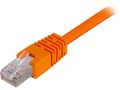 DELTACO UTP Cat.6 patchkabel 2m, orange