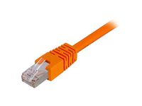 DELTACO UTP Cat6 patchkabel 1,5m, orange (TP-611-OR)