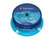 VERBATIM CD-R 80min 700MB DataLife Extra Protection 52xSpeed *25-pack* CakeBox