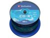 VERBATIM CD-R 80min 700MB DataLife Extra Protection 52xSpeed *50-pack* CakeBox (43351)