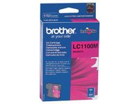 BROTHER LC-1100 ink cartridge magenta standard capacity 7.5ml 325 pages 1-pack (LC1100M)