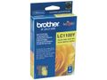 BROTHER LC-1100 ink cartridge yellow standard capacity 7.5ml 325 pages 1-pack