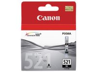 CANON CLI-521B ink cartridge black standard capacity 9ml 2.370 pages 1-pack (2933B001)