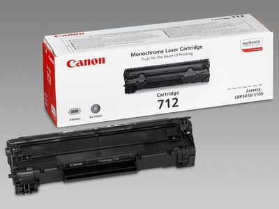 CANON 712 toner cartridge black standard capacity 1.500 pages 1-pack (1870B002)