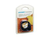 DYMO Tape LetraTag White 12mm x 4m P†strykningsbar