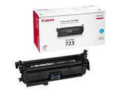 Canon COLOR CARTRIDGE 723 , Toner Cyan 8500 sider