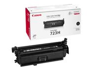CANON COLOR CARTRIDGE 723H , Toner Sort 10.000 sider (2645B002)