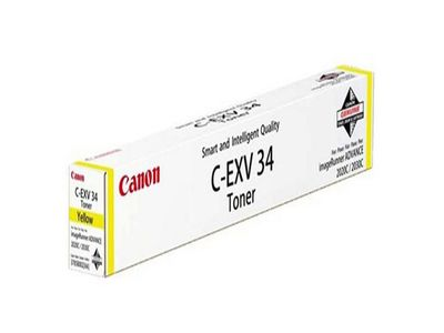 CANON C-EXV 34 toner yellow standard capacity 19.000 pages 1-pack (3785B002)