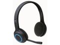 LOGITECH H600 Cordless Headset USB-nano-receiver Blue/Black