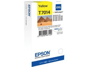 EPSON cartridge XXL yellow for WP 4000/4500 3400 pages WP-4015DN WP-4025DW WP-4515DN WP-4525DNF WP-4535DWF WP-4545DTWF (C13T70144010)