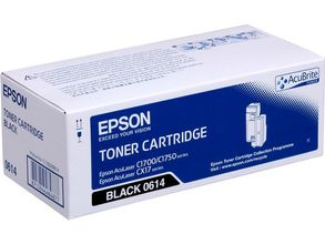 EPSON cartridge black 2000 pages for C1700 (C13S050614)