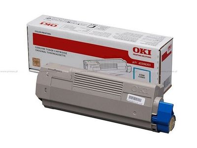 OKI toner cyan MC760 70 80 6000 pages (45396303)