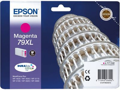 EPSON INK CARTRIDGE T79034010 2000 PAGES MAGENTA (C13T79034010)