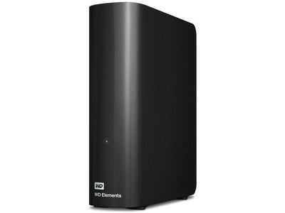 WESTERN DIGITAL HDD EXT Elements 4TB 3.5 USB2 BK (WDBWLG0040HBK-EESN)