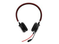 JABRA EVOLVE 40 MS Stereo USB Headband Noise cancelling USB connector with mute-button and volume control on the cord (6399-823-109)