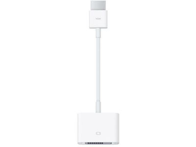 APPLE HDMI to DVI Adapter Cable (MJVU2ZM/A)