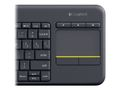 LOGITECH Wireless Touch Keyboard K400 Plus Nordisk (sv/no/fi/dk)