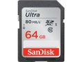 SANDISK ULTRA UHS-I SDXC CARD (CLASS 10 64GB 80MB/S)