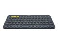 LOGITECH K380 KEYBOARD DARK GREY MULTI-DEVICEBLUETOOTH(PANNORDIC) NX