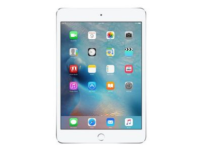 APPLE iPad mini 4 Wi-Fi Cell 128GB Silver (MK772KN/A)