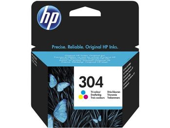 HP Ink/304 Tri-color (N9K05AE#UUS)