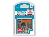 DYMO D1 tape Extra Strong 12mmx3m black/ orange
