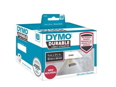 DYMO LW Durable barcode 19mm x 64mm, 450 labels (1933085)