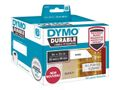 LW Durable shelving label 25mm x 89mm, 350 labels / DYMO (1933081)