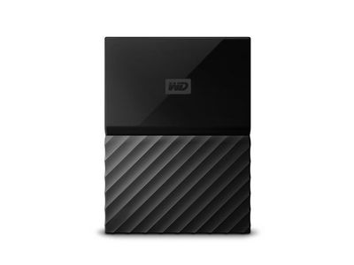 WESTERN DIGITAL External HDD WD My Passport for Mac 2.5'' 1TB USB3 Black Worldwide (WDBFKF0010BBK-WESN)