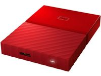 My Passport 1TB portable HDD Red