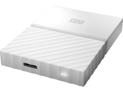WESTERN DIGITAL My Passport 2TB portable HDD White (WDBYFT0020BWT-WESN)