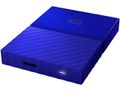 WESTERN DIGITAL My Passport 1TB portable HDD Blue
