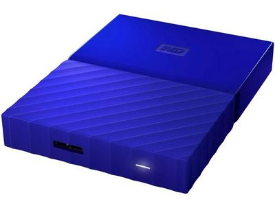 WESTERN DIGITAL My Passport 4TB portable HDD Blue (WDBYFT0040BBL-WESN)