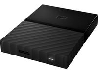 WESTERN DIGITAL My Passport 1TB portable HDD Black (WDBYNN0010BBK-WESN)