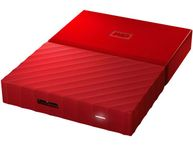 WD My Passport 4TB portable HDD external USB3.0 2,5Inch Red Retail