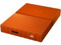 WESTERN DIGITAL My Passport 1TB portable HDD Orange
